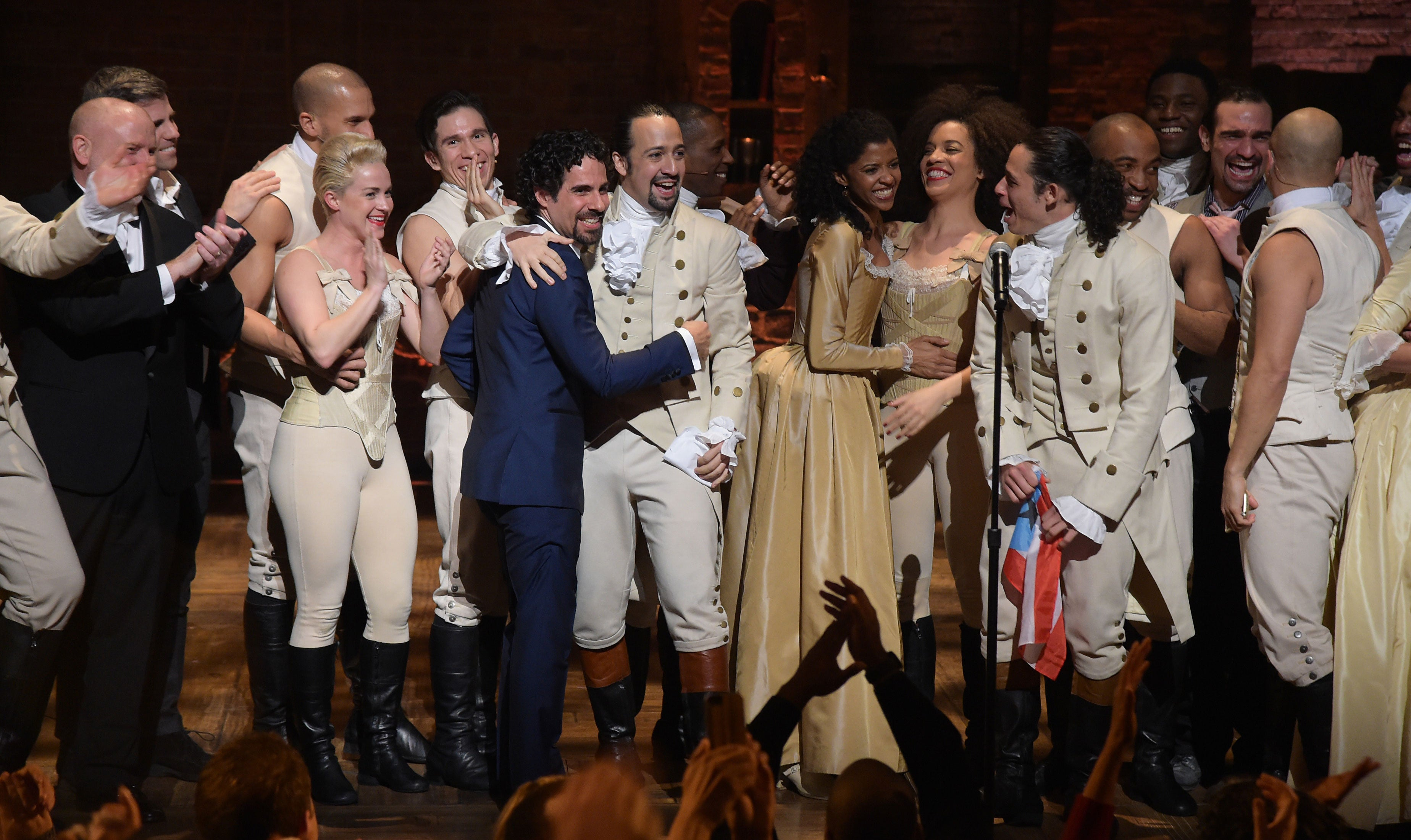 "Vice President-Elect Mike Pence Booed At ""Hamilton"" Show"