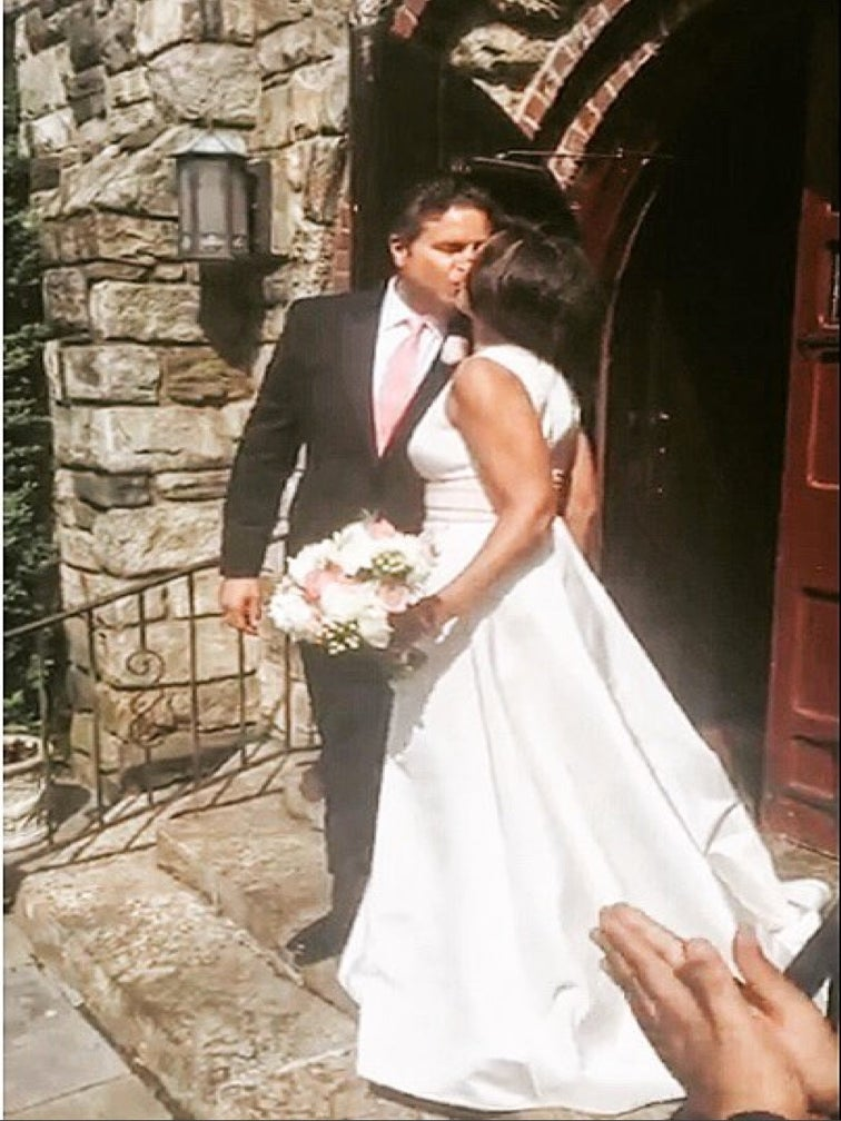 Vanessa Williams Marries her Husband Again, This Time in a Pamella Roland Gown