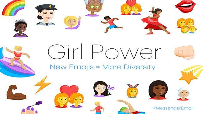 Facebook Diversifies Its Messenger Emojis