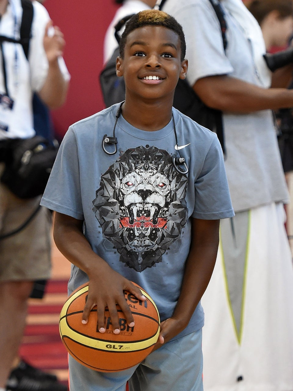 Proud Mom Savannah James Shares Clip Of Son LeBron Jr. Teaching Himself To Play The Piano