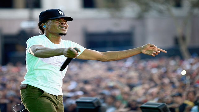 Chance The Rapper To Offer Voter Registration At Chicago Music Festival