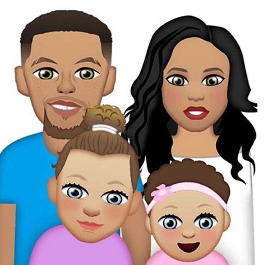 the curry family now have emojis