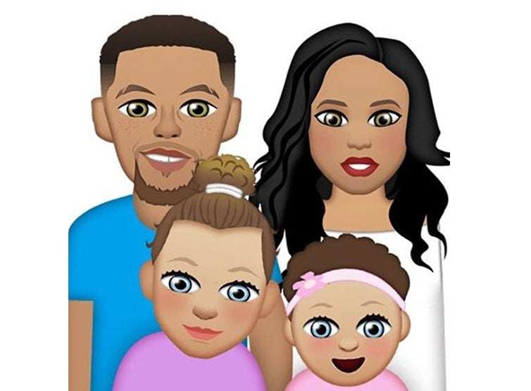 The Curry Family Now Have Their Own Emojis