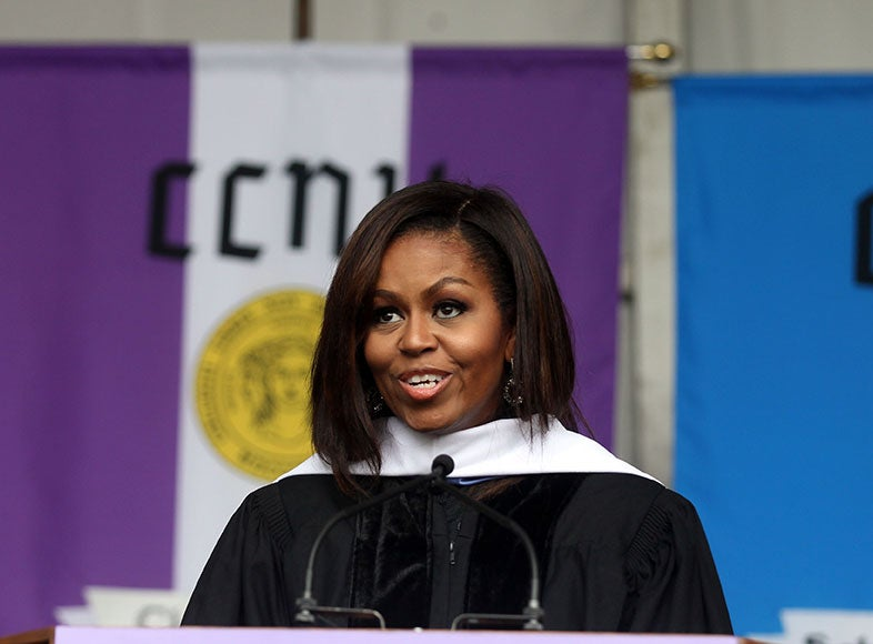 "Michelle Obama: ""I Wake Up In A House That Was Built By Slaves"""