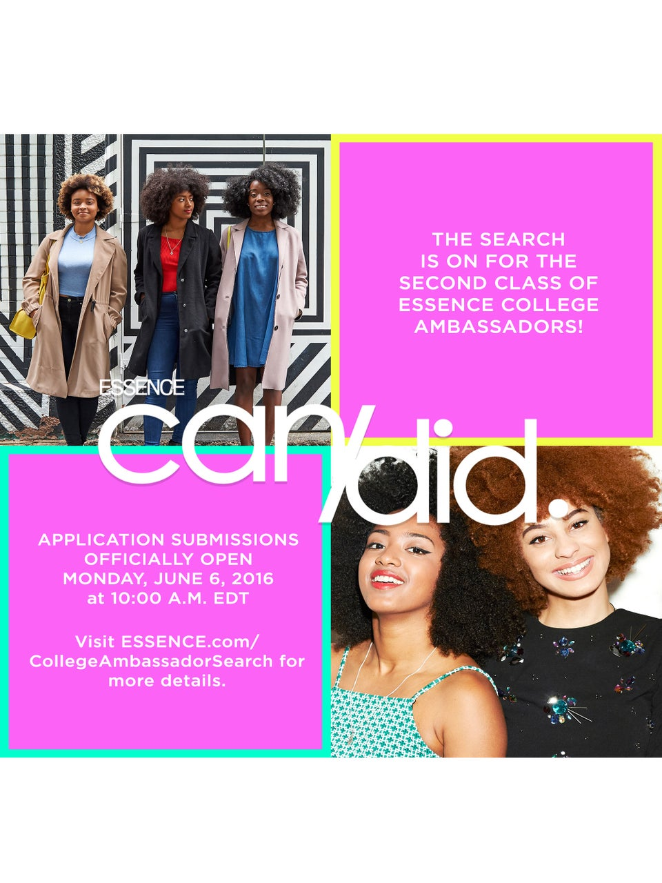 ESSENCE Wants You to Be a College Ambassador!
