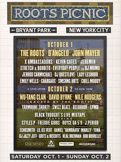 The Roots Picnic Is Coming To NYC