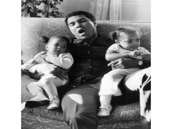 Precious Moments Between Muhammad Ali and His Daughters