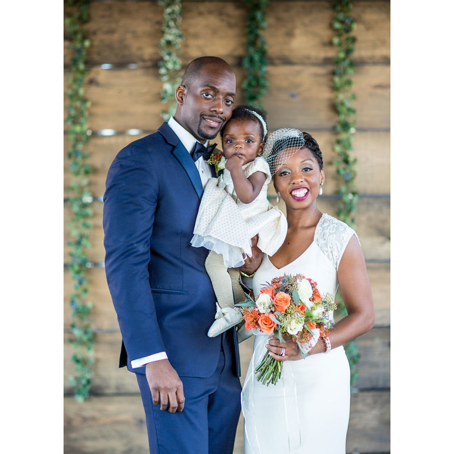 Bridal Bliss: College Sweethearts Devon and Ebony Tie The Knot In Style