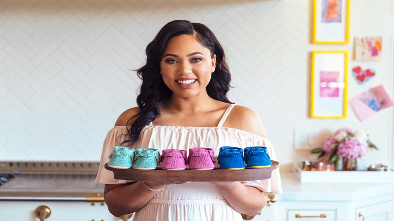 Ayesha Curry Teams Up With Freshly Picked Moccasins For Adorable Baby Shoe Line