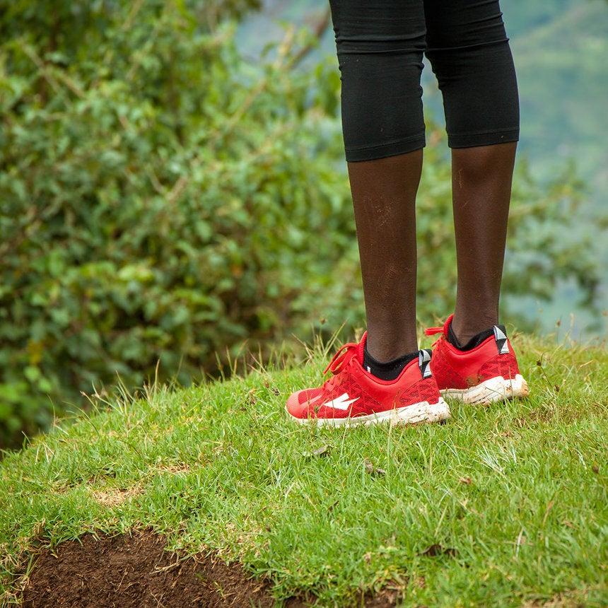 Kickstarter Gold: Kenyan Woman on Track to Create Country's First Running Shoe