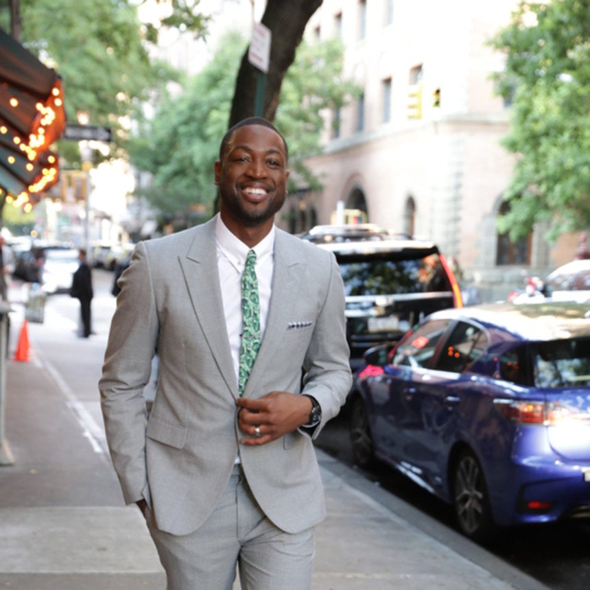 Dwyane Wade Dishes on His New Tie Bar Collection