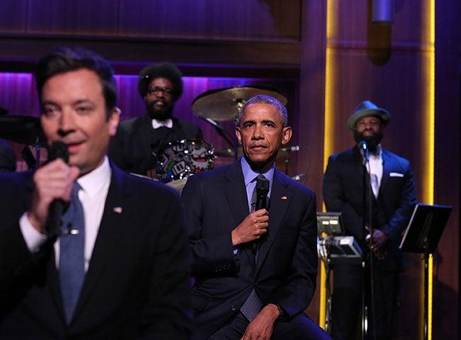 President Obama Joins Jimmy Fallon to 'Slow Jam the News'