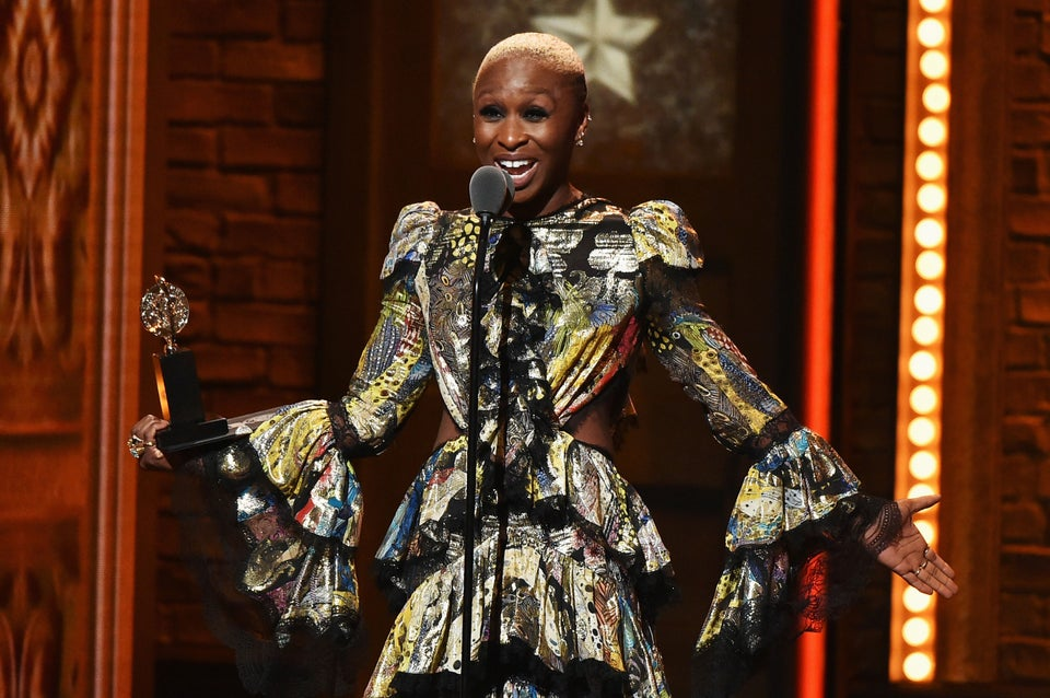 Cynthia Erivo Snags Tony for Best Leading Actress in a Musical in 'The Color Purple'