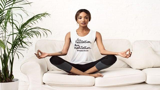 Supermodel Jourdan Dunn Partners With #ActuallySheCan to Empower Women