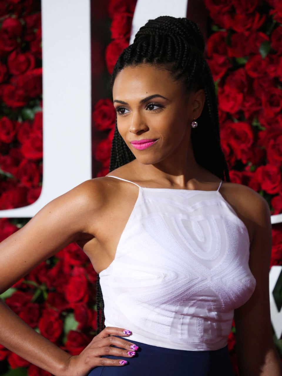Nicolette Robinson Came to Slay In Box Braids At The Tony's