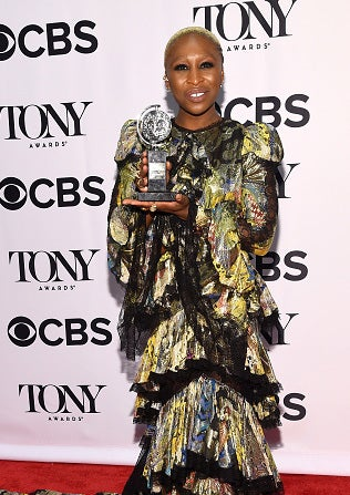 Tony Award Winner Cynthia Erivo's Love of Fitness Is Total #Goals