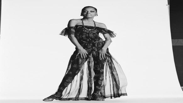 TBT: Diana Ross is Summer Style Goals in a Floral Off-The-Shoulder Dress