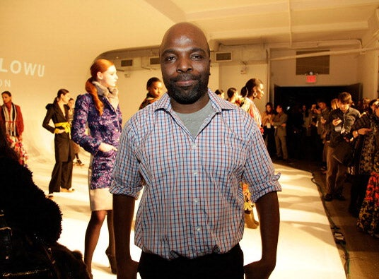 Designer Duro Olowu Shares His Creative Process When Styling Printed Textiles