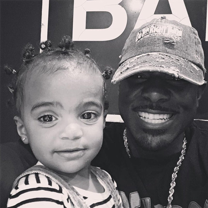 Daddy Duties: Lance Gross'Daughter Is All Smiles At The Doctor's Office
