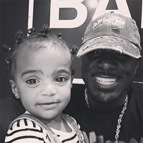 Daddy Duties: Lance Gross' Daughter Is All Smiles At The Doctor's Office