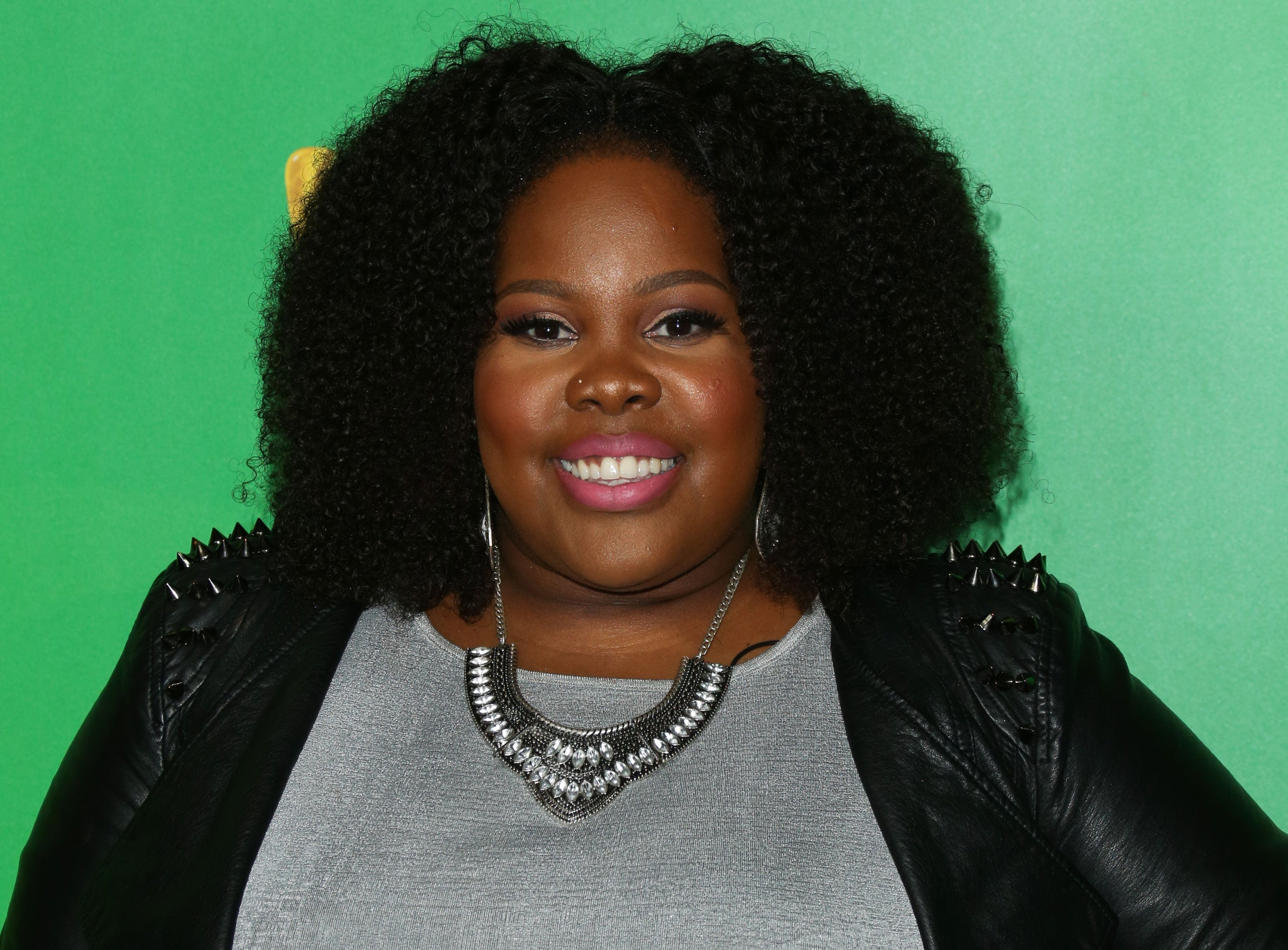 Amber Riley's Beautiful Afro and Killer Curves Are Mind-Blowing