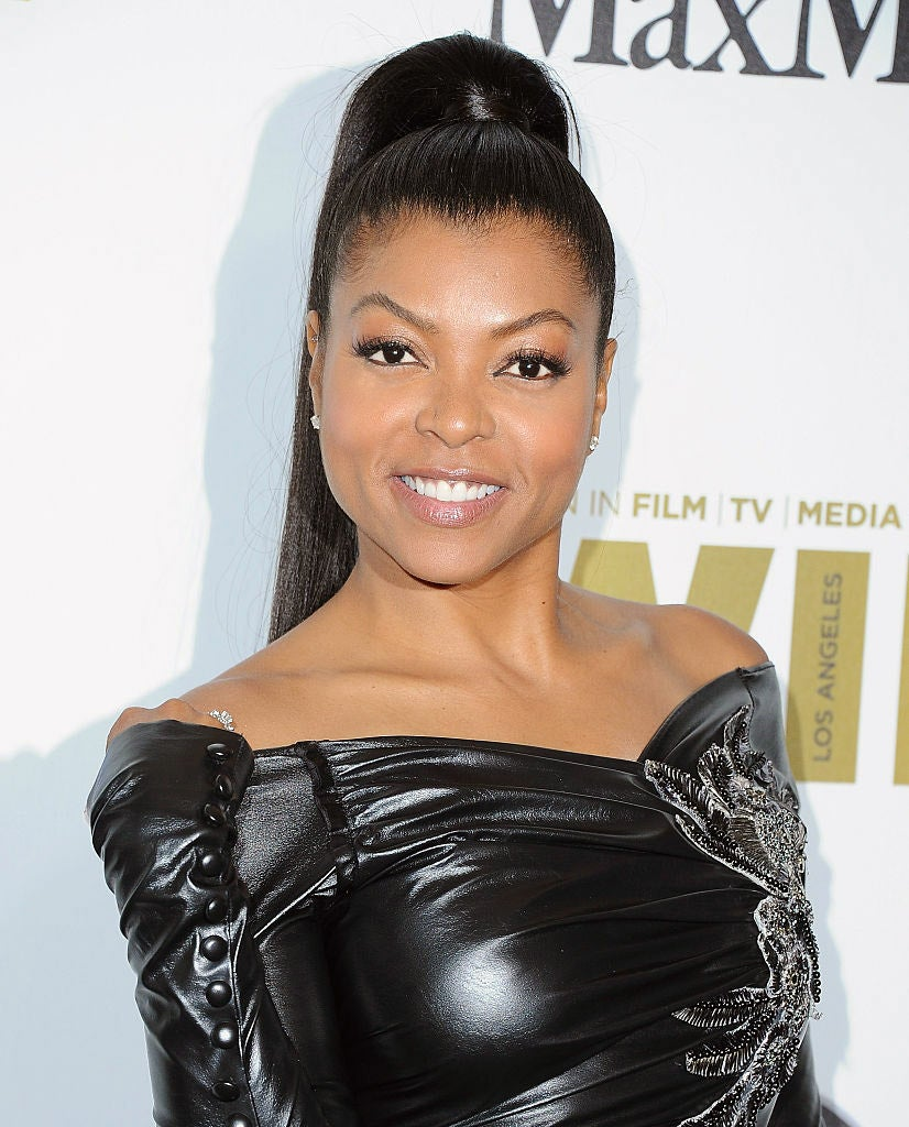 Get The Look: Taraji P Henson's Simple and Chic Makeup at the Women in Film Crystal + Lucy Awards