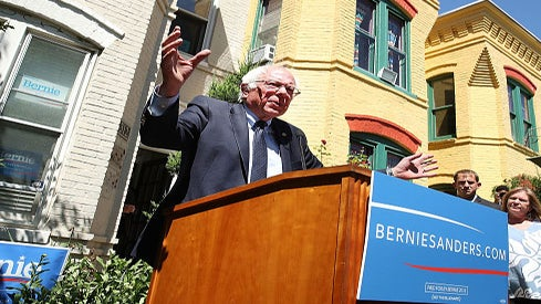 Bernie Sanders 'Looks Forward' to Working with Hillary Clinton