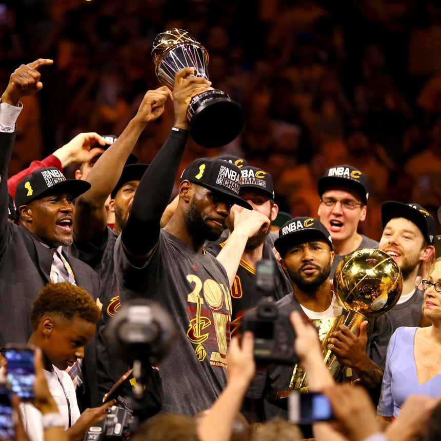 LeBron James, Kyrie Irving Deliver Cavaliers Elusive Championship