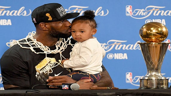 LeBron James' Daughter Zhuri is Just as Adorable as You Would Imagine