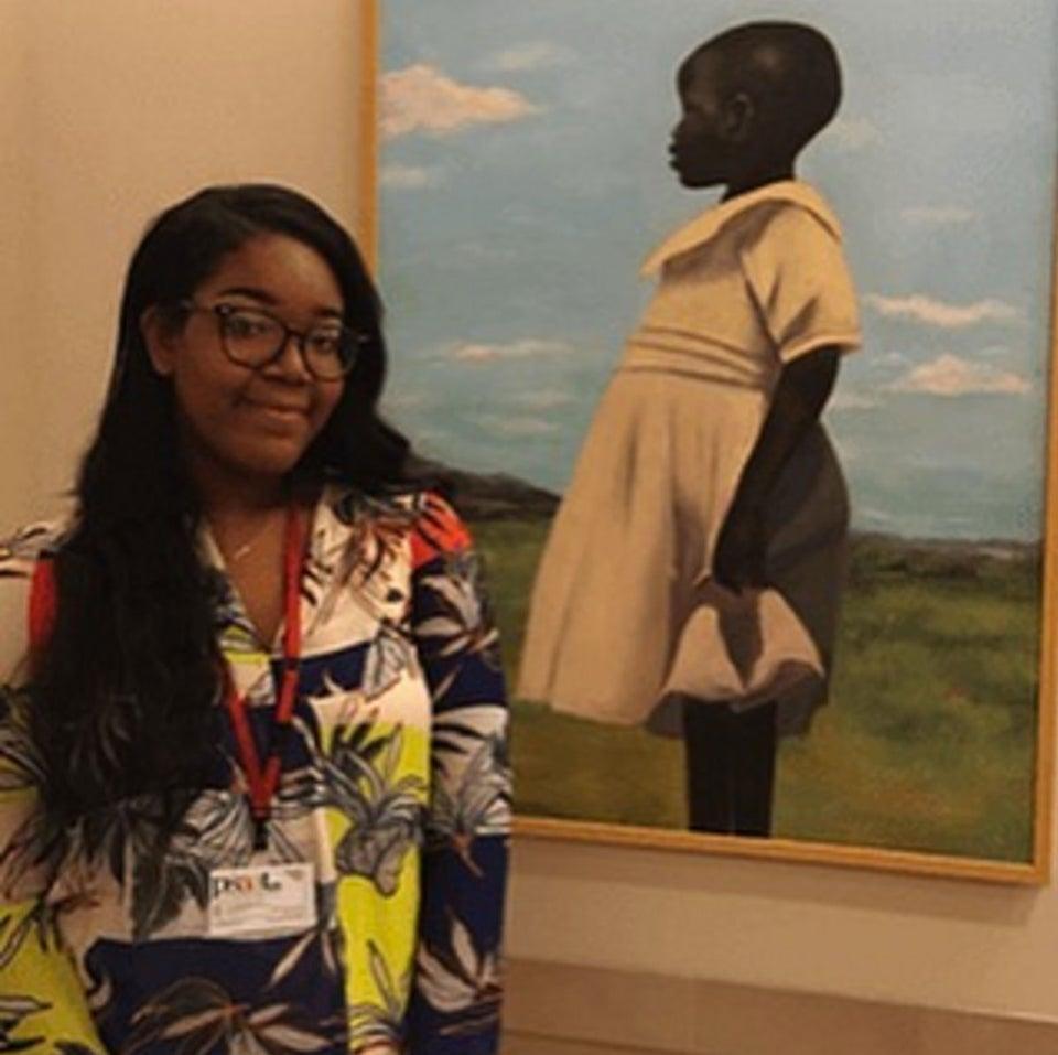 #BlackGirlMagic! This Teen's Artwork is Displayed in the Met