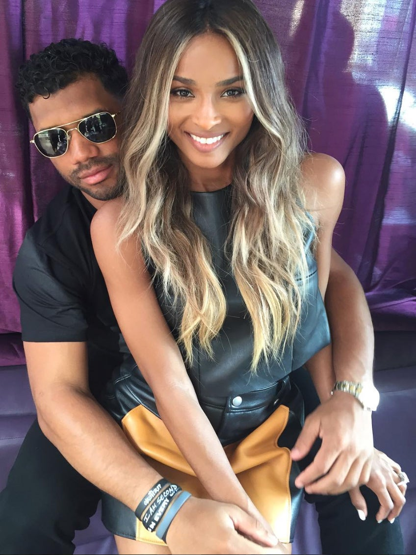 Surprise and Congrats! Ciara and Russell Wilson Just Got Married