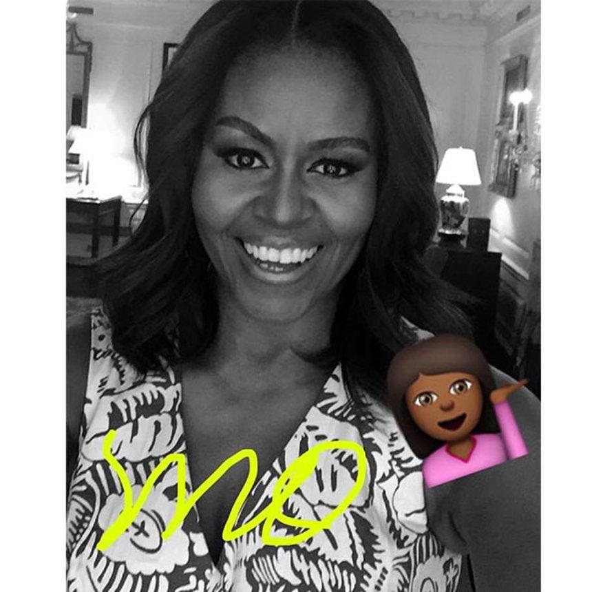 Michelle Obama Snapchats Her Trip To Liberia