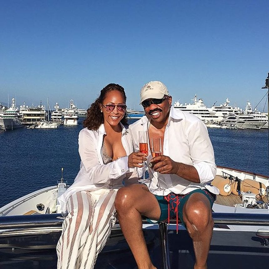 Marjorie Harvey and Steve Harvey Are Living Their Best Lives On Vacation Right Now