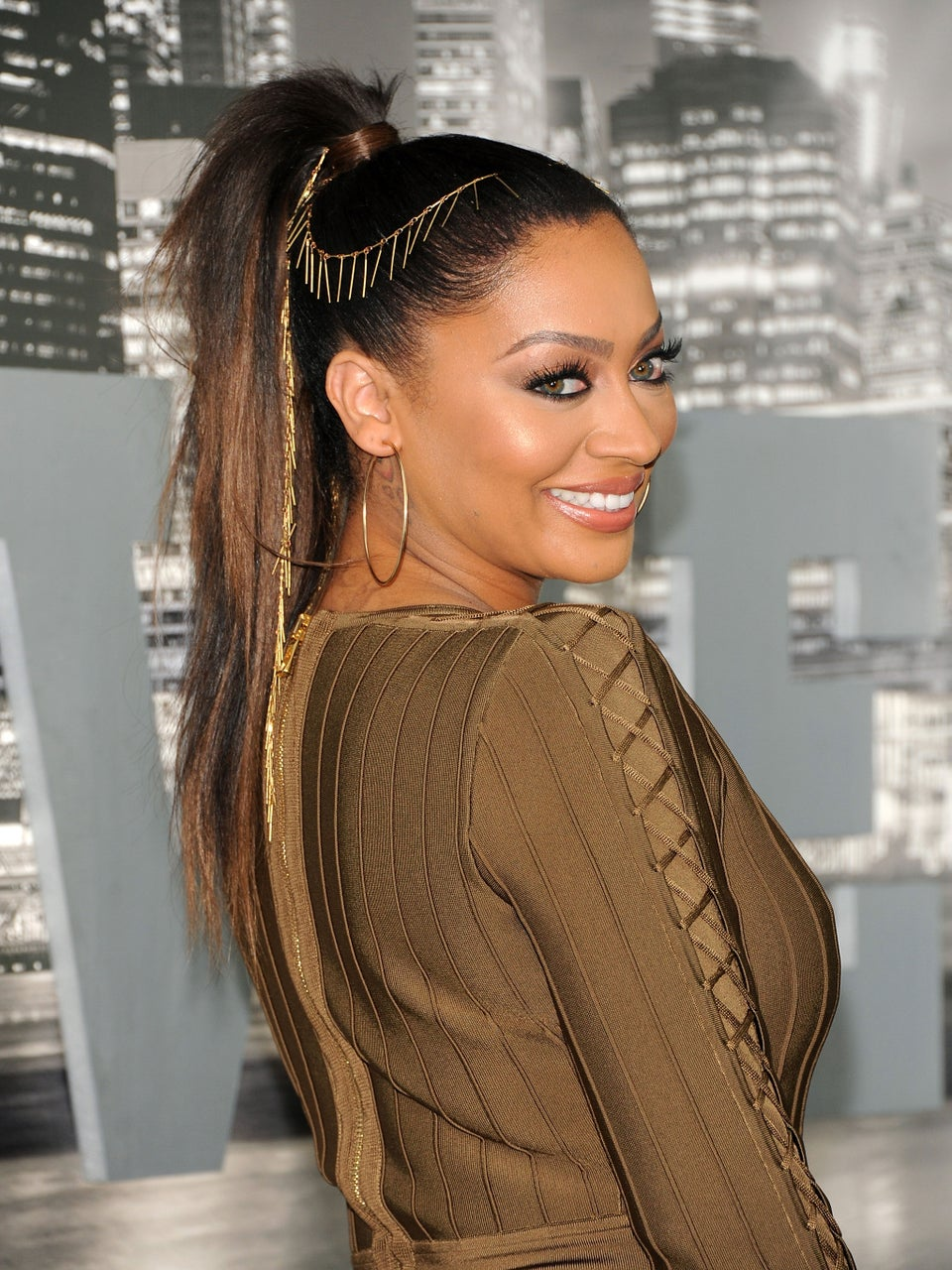 Hair Jewelry Is LaLa Anthony's Newest Obsession