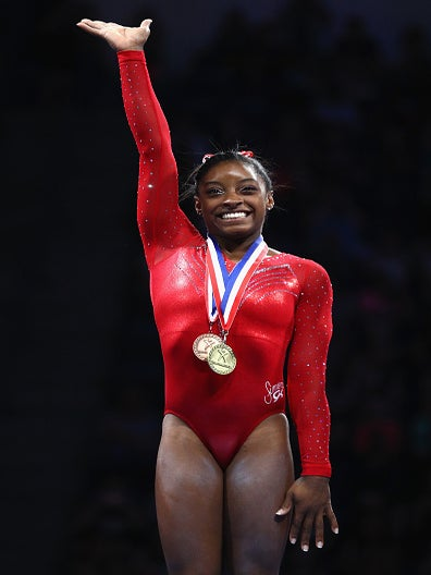 Gymnast Simone Biles Becomes First Woman To Win 4 Consecutive National Championships In 42 Years