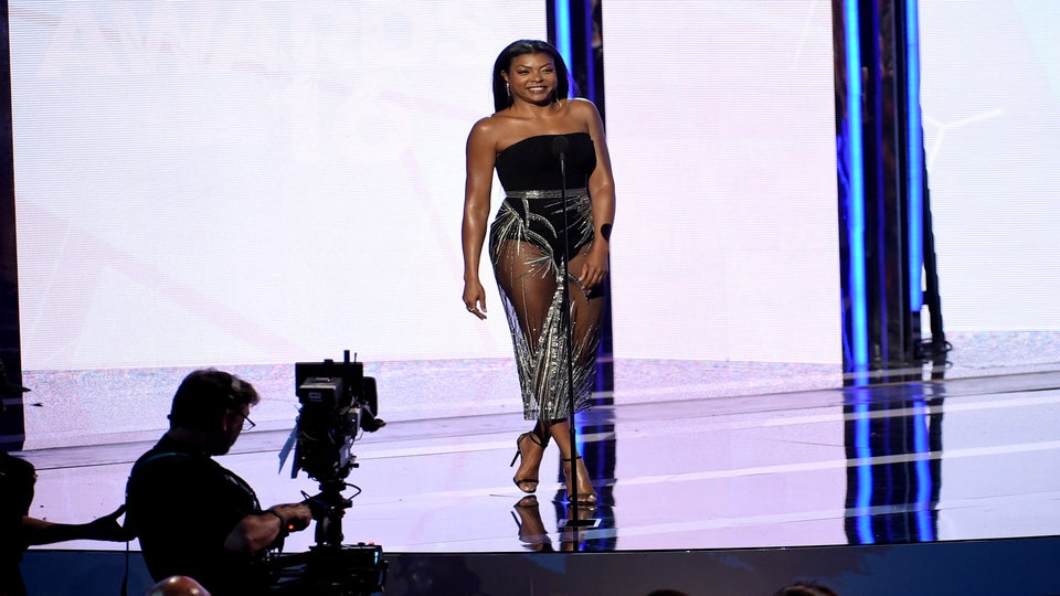Taraji P. Henson's Sheer Skirt Moment Is Everything We Need in Our Lives