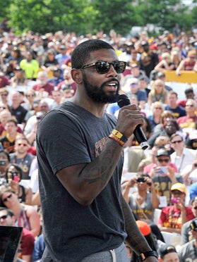 Kyrie Irving Responds To Backlash For Celebratory Boat Allegedly With Only White Women