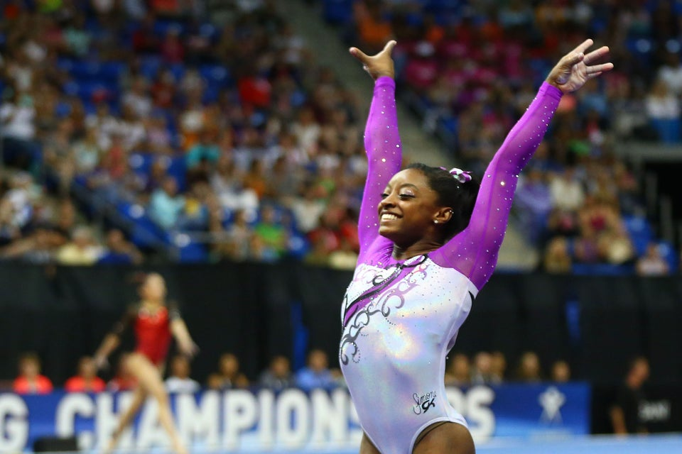 How Gymnast Simone Biles Overcame Being Given up by Her Mother to Become an Olympic Gold Hopeful