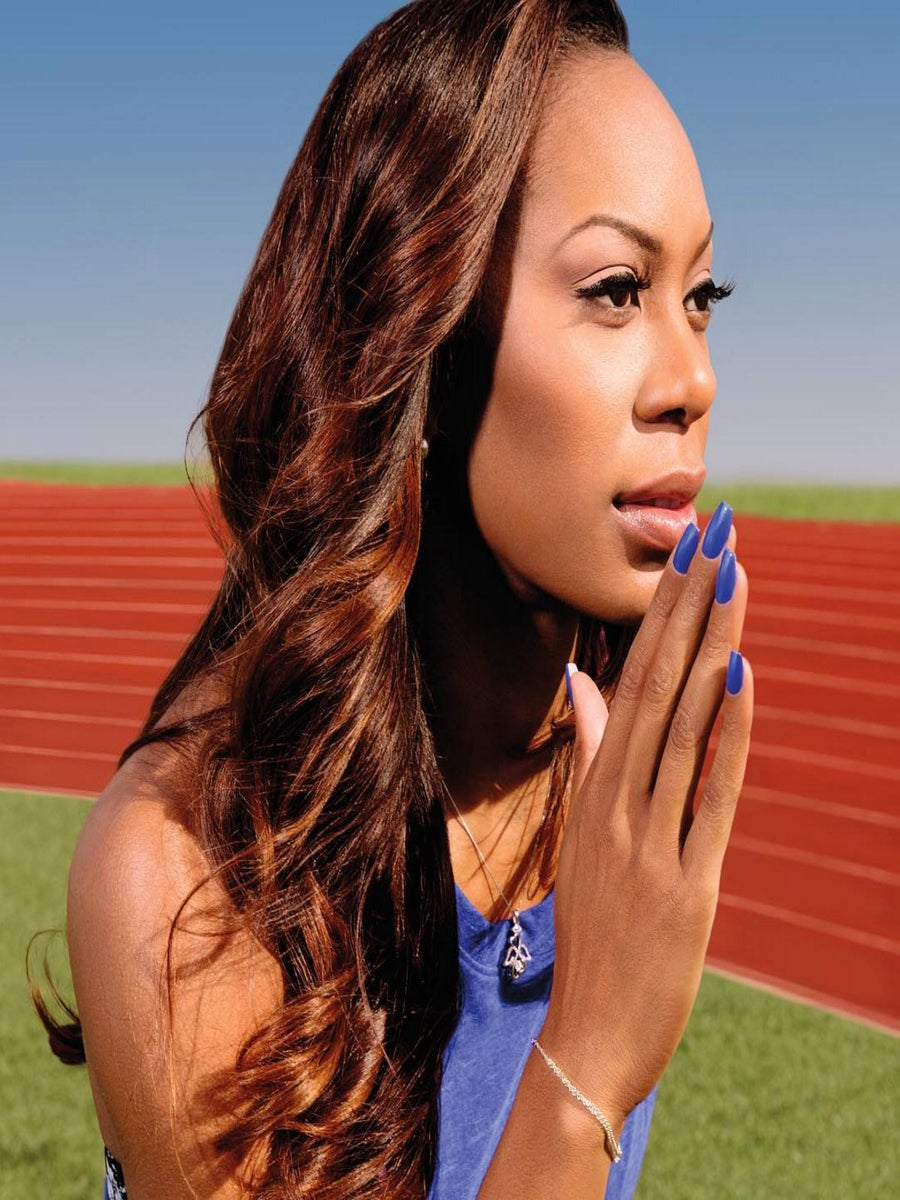 Olympian Sanya Richards-Ross Has a Nail Collection With Formula X and It Is To Die For!