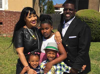 Erica Campbell, Her Husband and Kids Make a Picture Perfect First Family