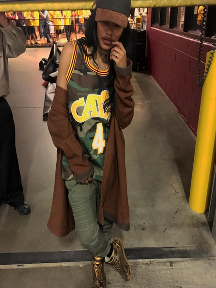 See How NBA Wives and Girlfriends Are Supporting Their Guys as Finals Near