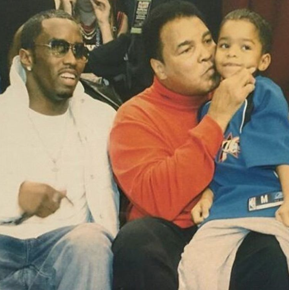 Diddy, Mike Tyson & More Celebrity Friends Mourn The Death Of Boxing Legend Muhammad Ali