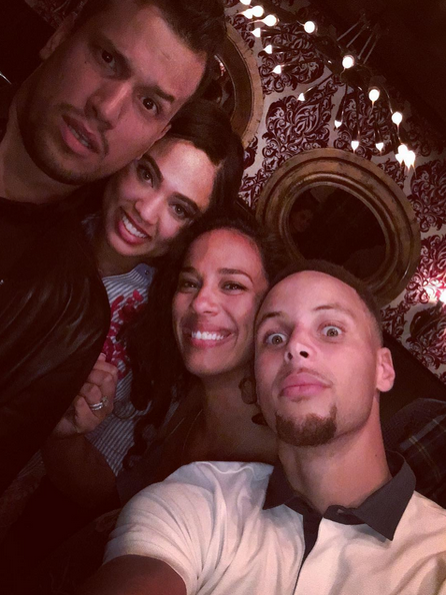 We Just Love How Steph Curry Shows Up and Shows Out For Wife Ayesha Curry
