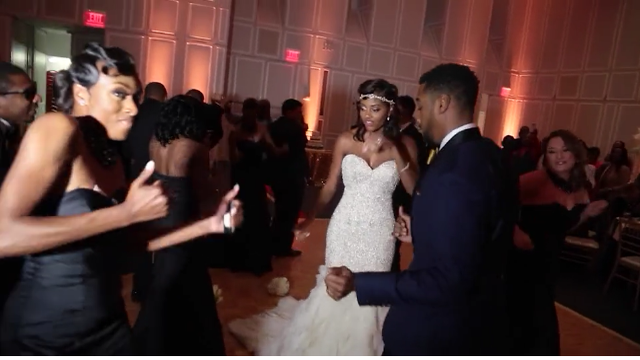 This Bride and Groom Just Nailed The Running Man Challenge