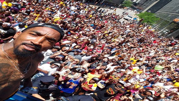 Cleveland Cavaliers' J.R. Smith Hasn't Worn a Shirt In Over 72 Hours (and We're Here For it)