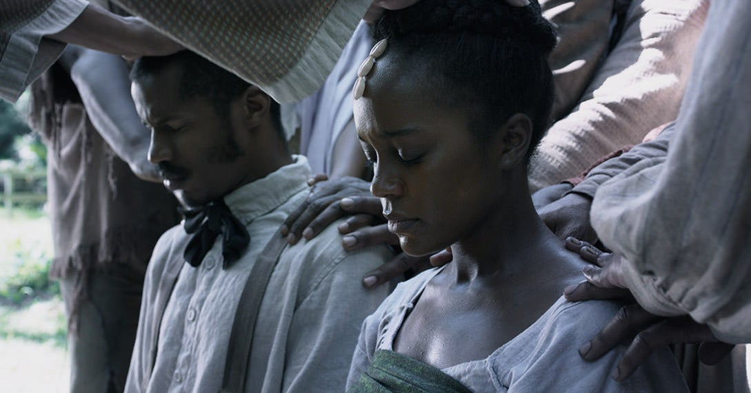 Aja Naomi King And Colman Domingo Open Up About Emotional Moments During 'Birth Of A Nation' Filming