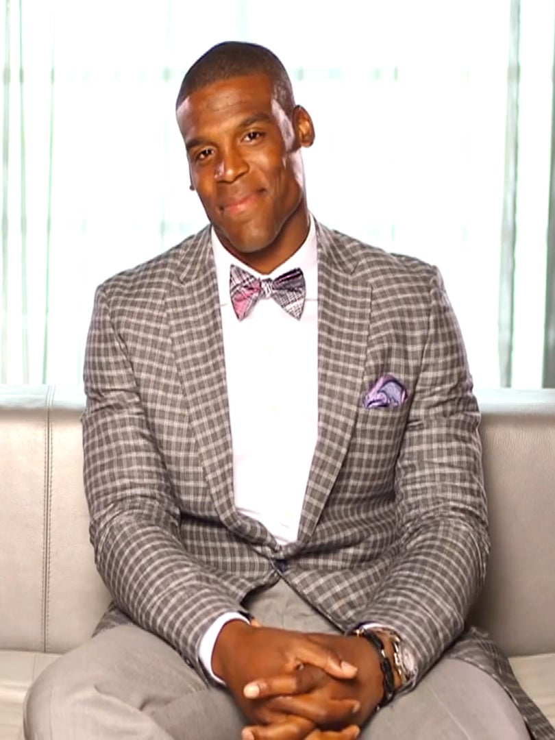 Cam Newton On His New Docu-Series And Helping Kids Achieve Their Goals