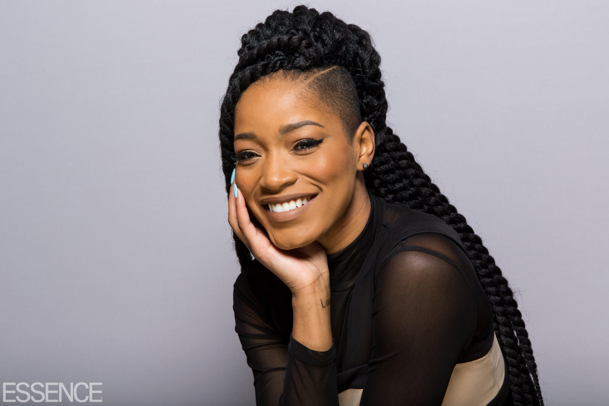 Keke Palmer Shares The Beauty Of Rocking Your Hair For You Essence