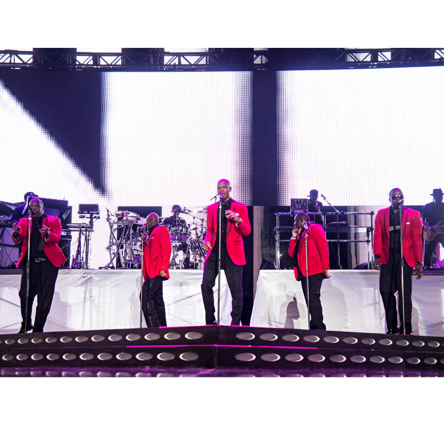 New Edition Honored With Star on Hollywood Walk of Fame