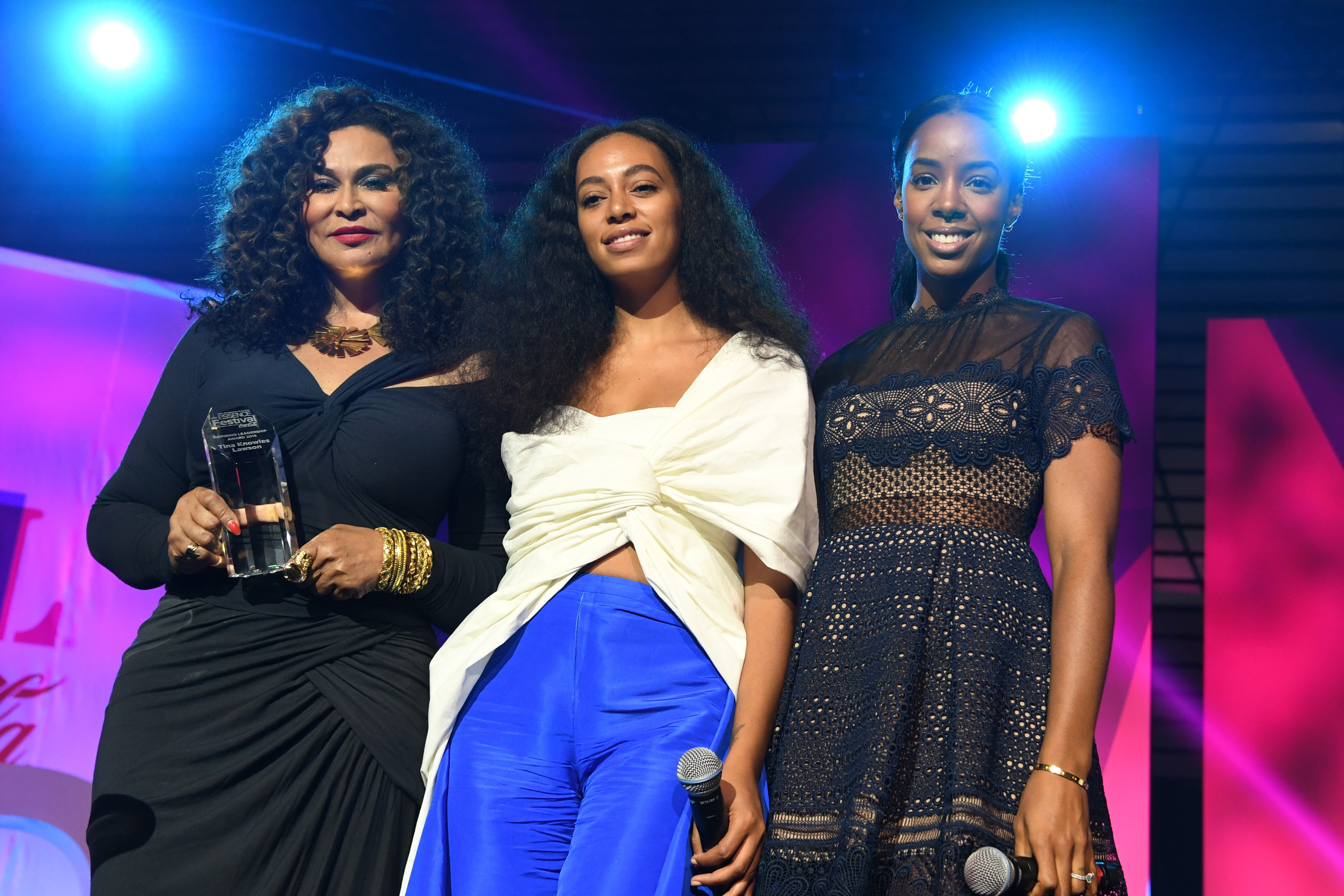 Tina Knowles Lawson Honored with Inspiring Leadership Award At ESSENCE Festival